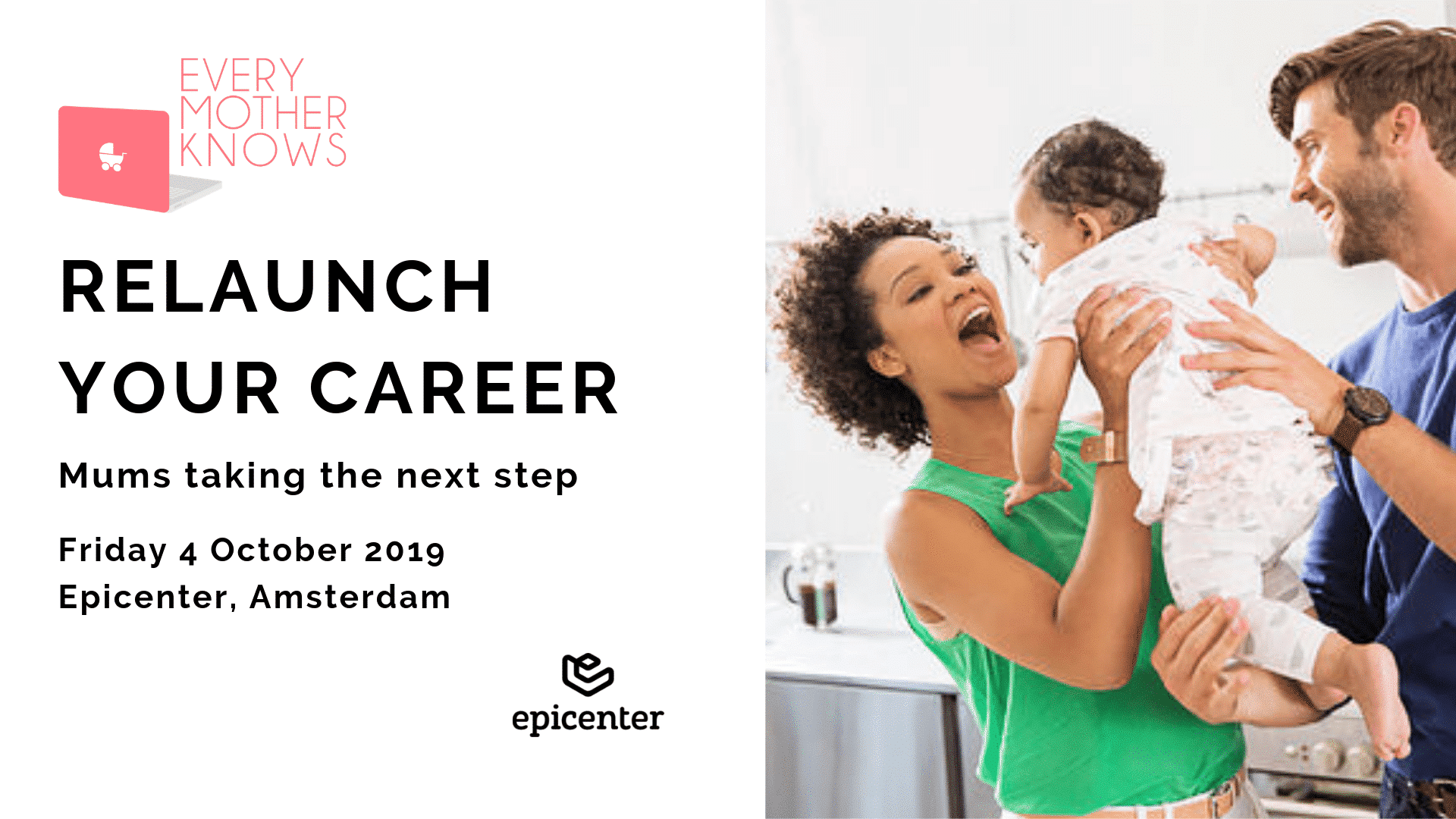 relaunch your career event