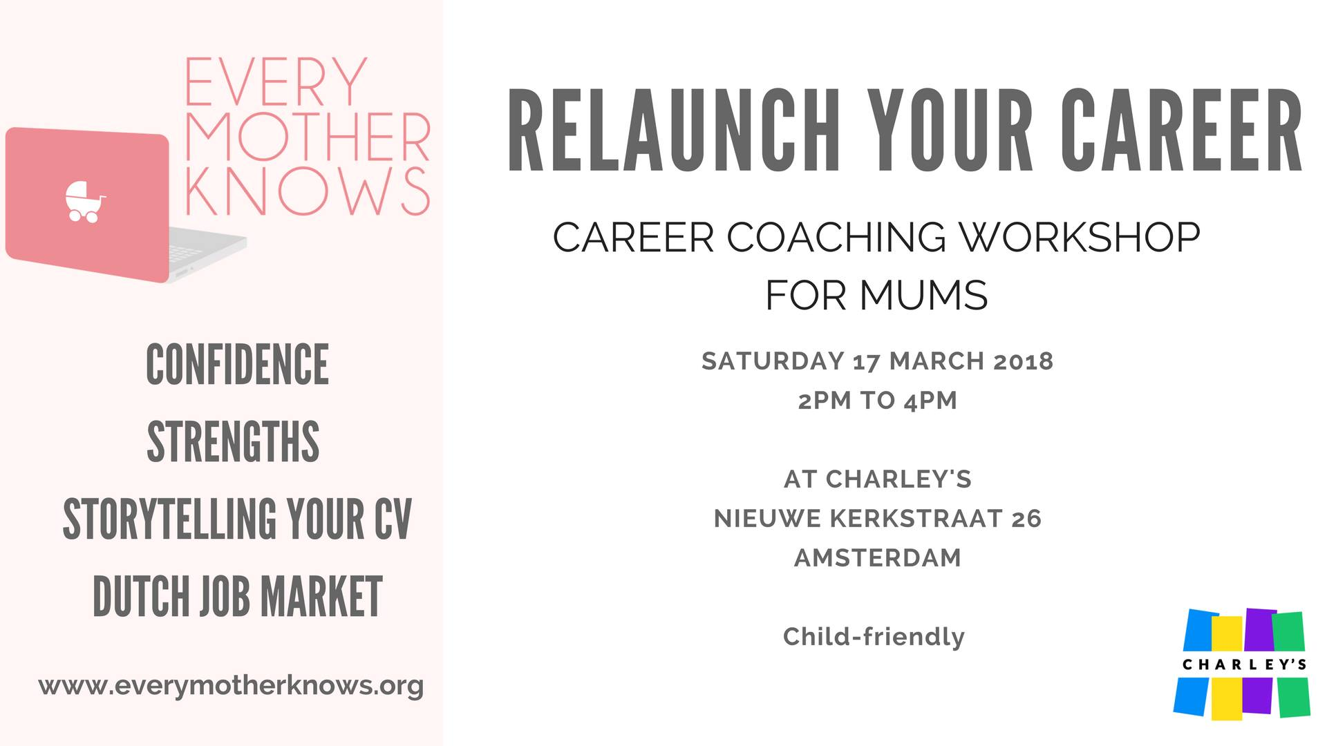 Working Mothers Event Amsterdam