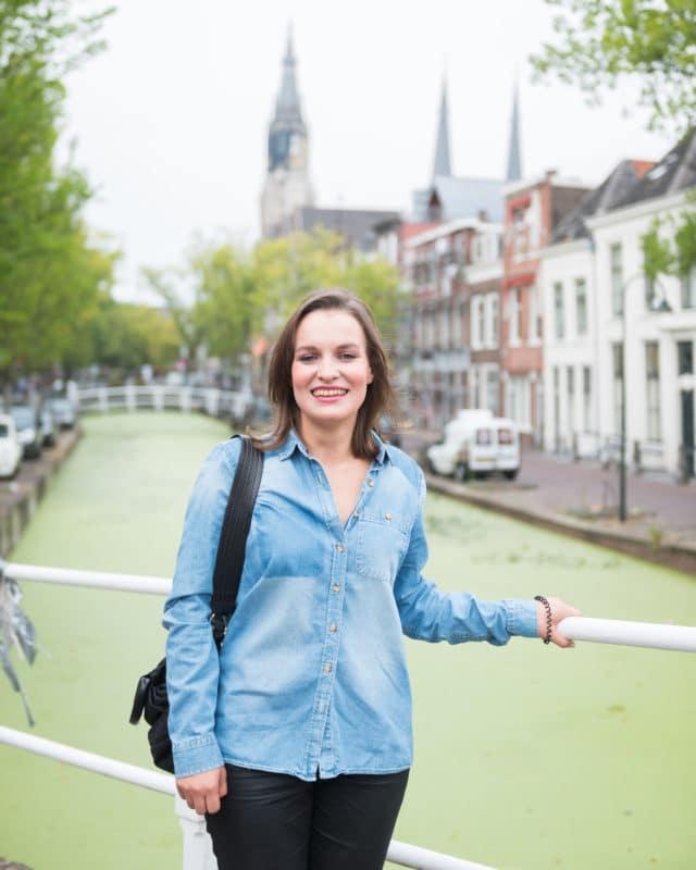 Lena in Delft